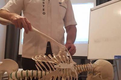 Εκπαίδευση στο OSTEOWORKS με τον καθηγητή Στέφανο Λυγούρα